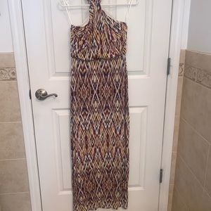Cynthia Rowley halter maxi dress